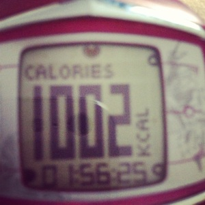 10km run burn + abs