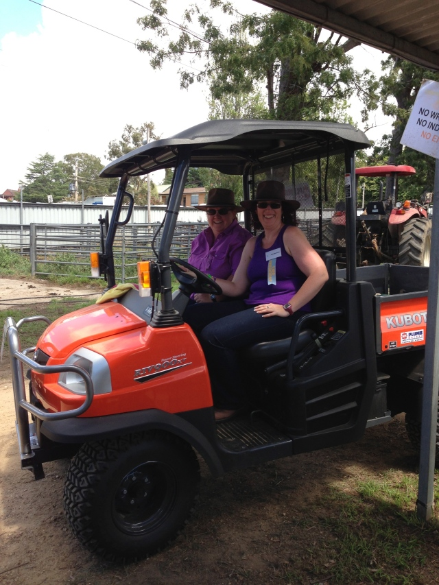 Fun on a Kubota